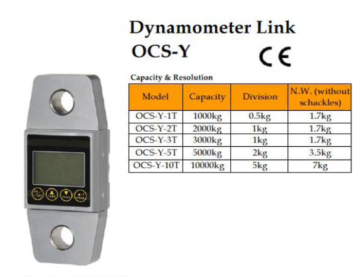 Dynometer OCS-Y